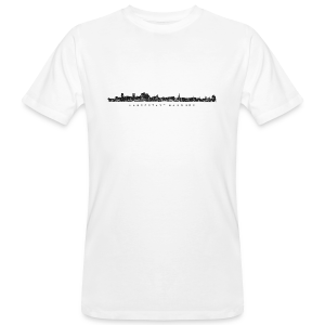 Hansestadt Hamburg Skyline (Schwarz) Bio T-Shirt - Männer Bio-T-Shirt