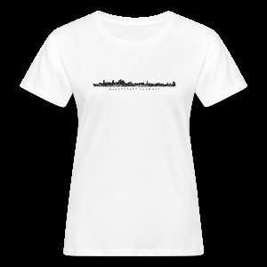 Hansestadt Hamburg Skyline (Schwarz) Bio T-Shirt - Frauen Bio-T-Shirt