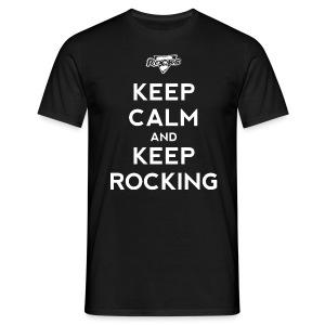 Keep Calm... - Mannen T-shirt