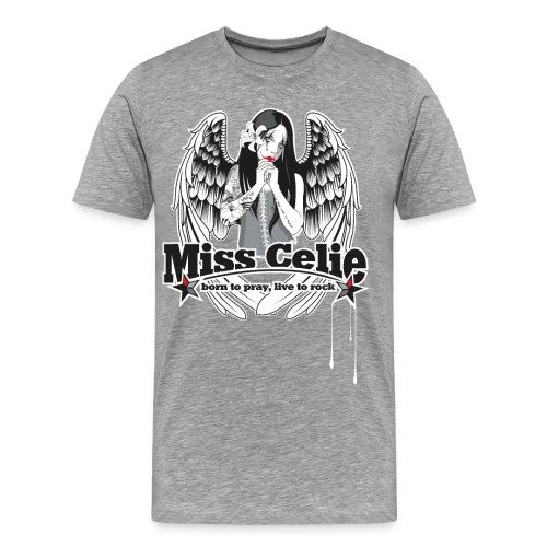 miss celie - logo - Männer Premium T-Shirt