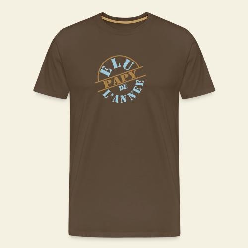Elu Papy de l'Année - T-shirt Premium Homme