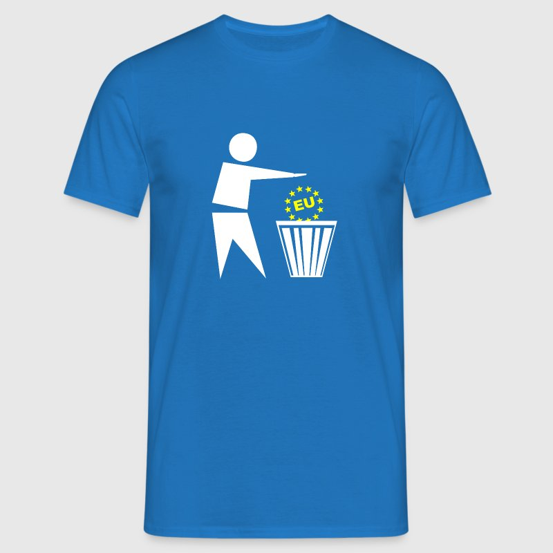 Put the eu in the basket - Men's T-Shirt