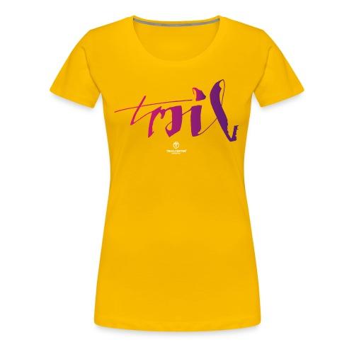 Trail Brush - Frauen Premium T-Shirt