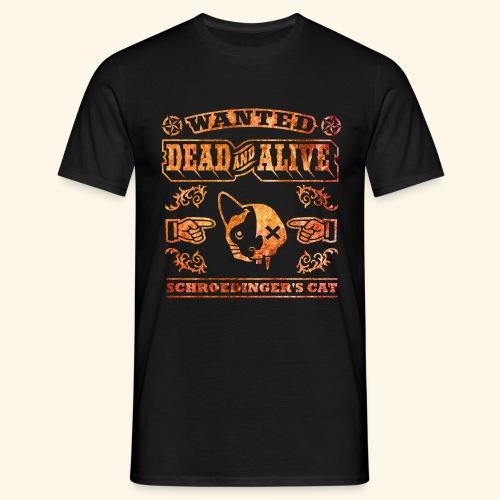 Schrödingers Katze, Kerlie - Männer T-Shirt