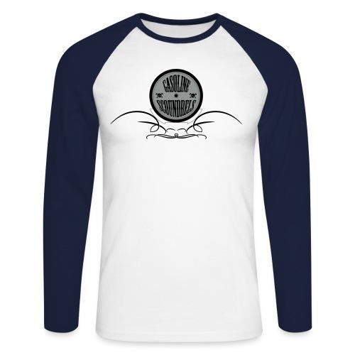 Long sleeve logo - Men's Long Sleeve Baseball T-Shirt
