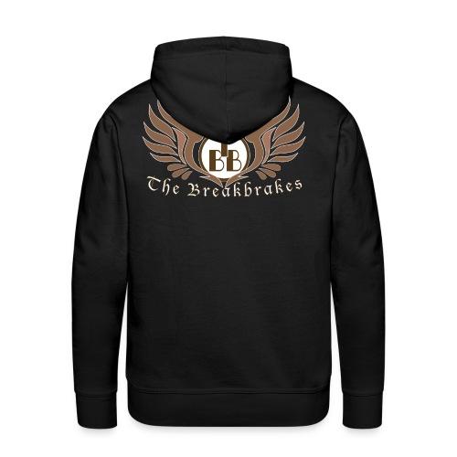 Logo auf dem Rücken - Männer Premium Hoodie