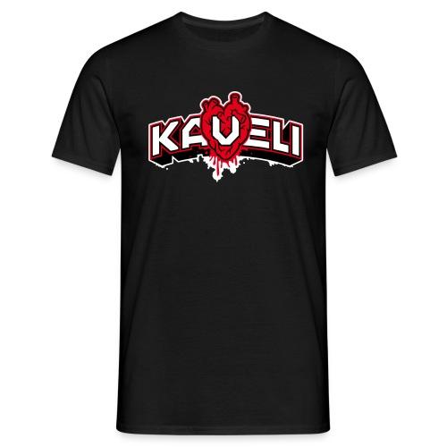 Kaveli Logo Herz - Männer T-Shirt