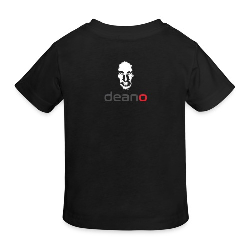 Deano Black Organic T-shirt Kid's - Kids' Organic T-Shirt