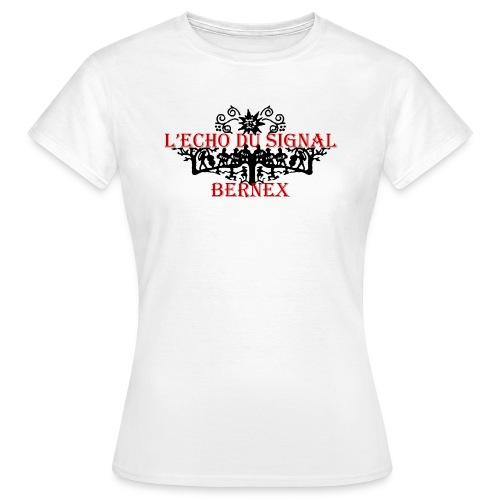 Tee-Shirt Dame Echo du Signal - T-shirt Femme