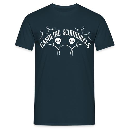 Blue/white  - Men's T-Shirt