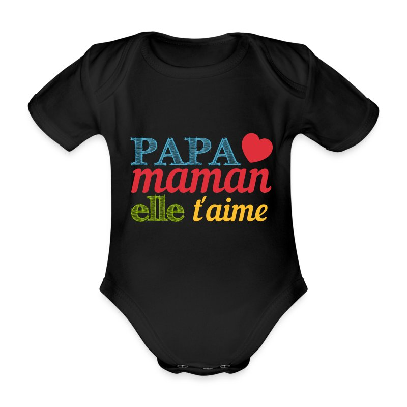 body b b papa maman elle t 39 aime spreadshirt. Black Bedroom Furniture Sets. Home Design Ideas