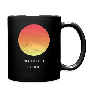 Mountain Lover - Tasse einfarbig