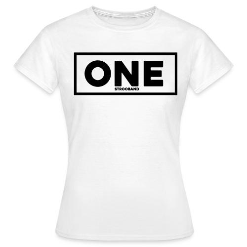 One Vrouwen T-Shirt (zwart logo) - Vrouwen T-shirt
