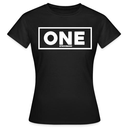 One Vrouwen T-Shirt (wit logo) - Vrouwen T-shirt
