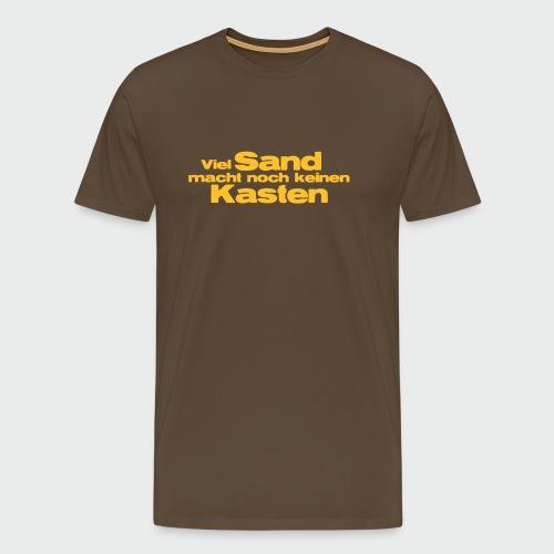 Viel Sand... - Männer Premium T-Shirt