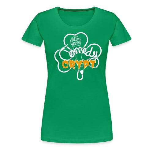 Shamrock Ladies T-shirt - Women's Premium T-Shirt