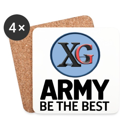 XpertGeek Coasters - Coasters (set of 4)