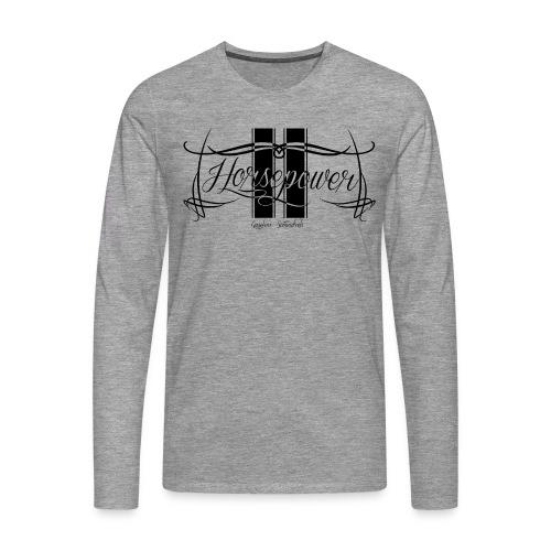 Longsleeve Horsepower - Men's Premium Longsleeve Shirt