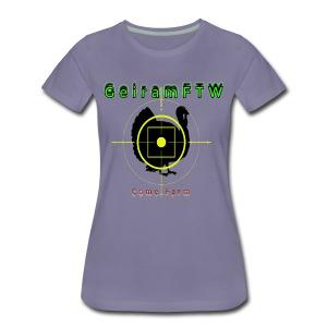 Geiram kylling - Premium T-skjorte for kvinner