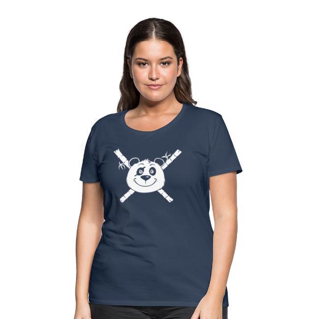 Panda Pirat - Frauen Premium T-Shirt