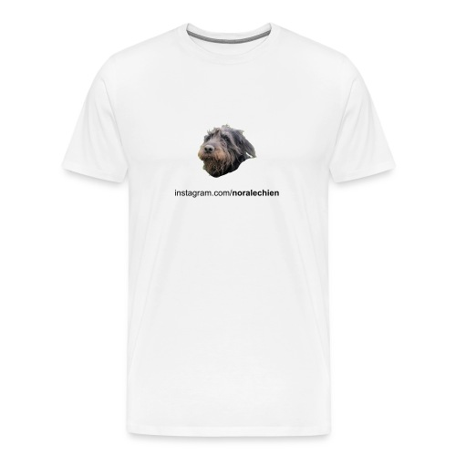 T-Shirt Nora le Chien - Men's Premium T-Shirt