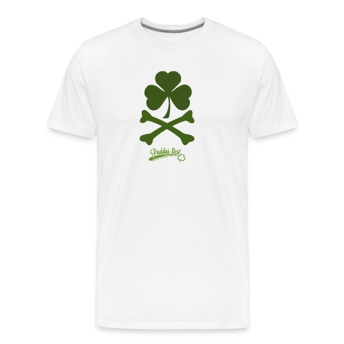 Shamrock & Bones - Männer Premium T-Shirt