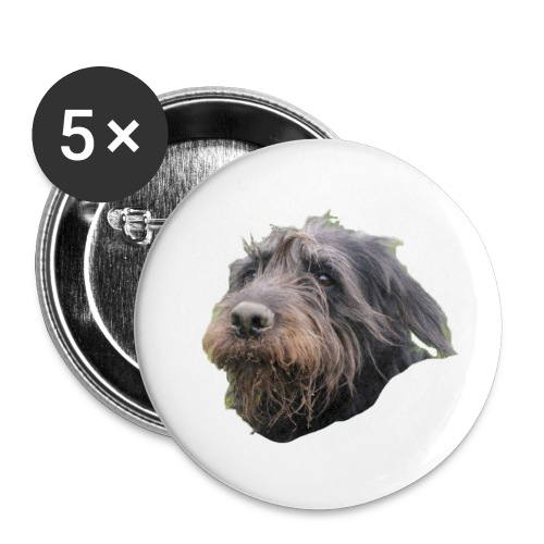 5 Buttons Nora le Chien - Buttons small 25 mm