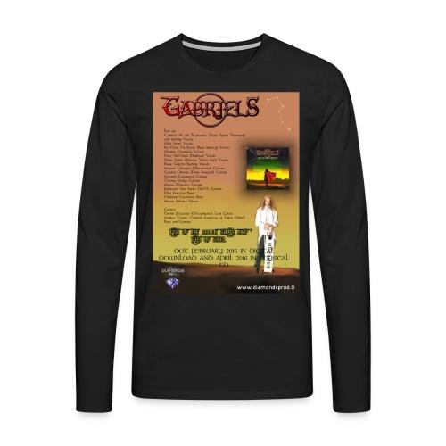 Maglietta Premium a manica lunga da uomo