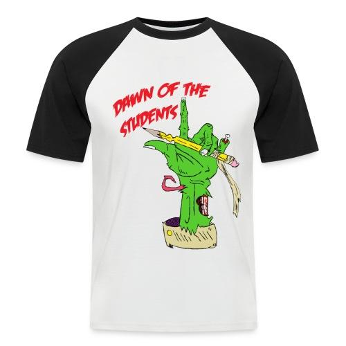 Dawn of the Students - Männer Baseball-T-Shirt