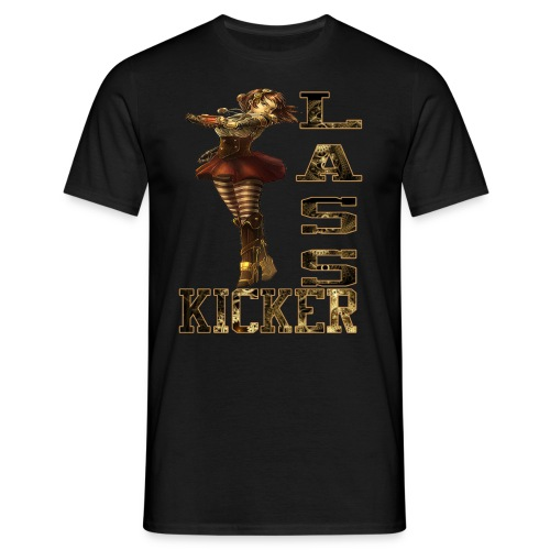 Becky Lynch Lass Kicker Steampunk - Men's T-Shirt