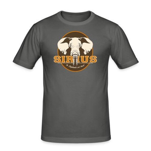 SiriuS - In Elephants we trust - Männer Slim Fit T-Shirt