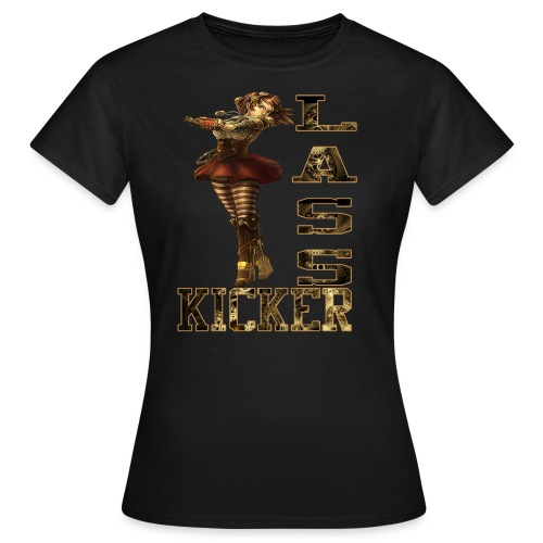 Becky Lynch Lass Kicker Steampunk - Women's T-Shirt