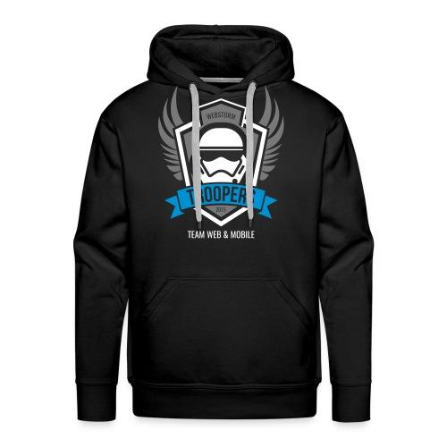 Hoodie Webstorm Troopers (Logos mehrfarbig) - Männer Premium Hoodie