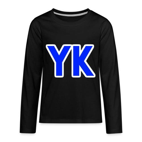 YK SHIRT KIND - Teenagers' Premium Longsleeve Shirt