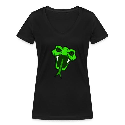 Chilled - Frauen T-Shirt mit V-Ausschnitt - Frauen Bio-T-Shirt mit V-Ausschnitt von Stanley & Stella