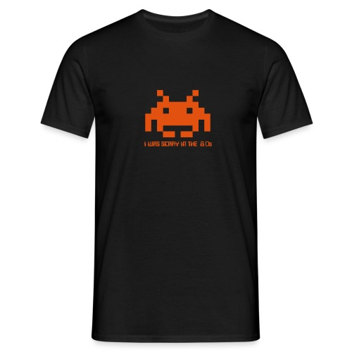 I was scary in the 80s, retro invaders T shirt - Men's T-Shirt