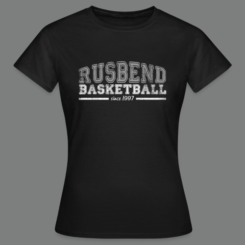 Women Rusbend T schwarz - Frauen T-Shirt