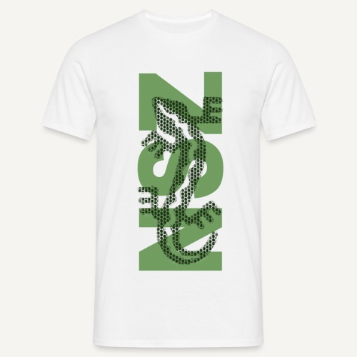 NSZ - jaszczurka - Koszulka męska