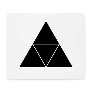 Triangle - Mousepad (Querformat)