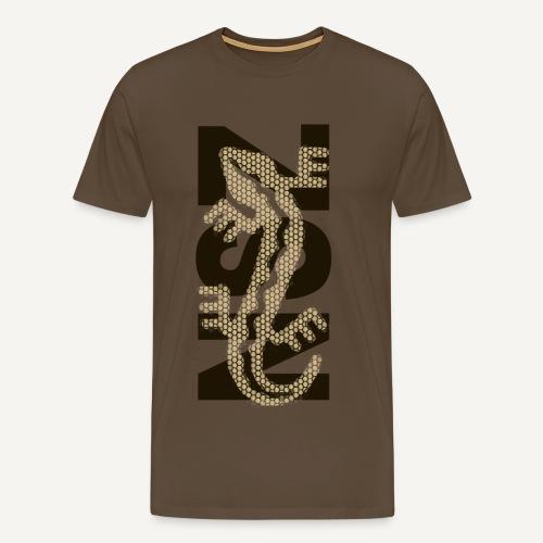 NSZ - jaszczurka - Koszulka męska Premium