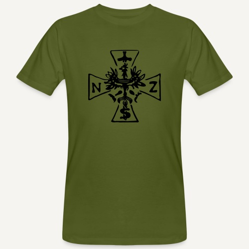 Krzyż NSZ - Ekologiczna koszulka męska