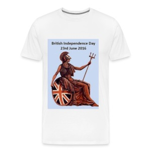 British Independance Day  - Men's Premium T-Shirt