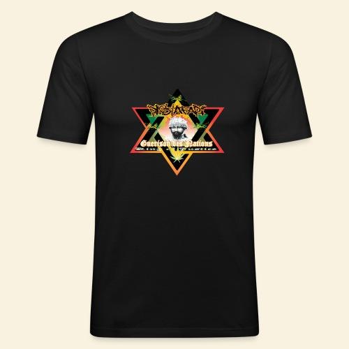 Guerison des nations - T-shirt près du corps Homme