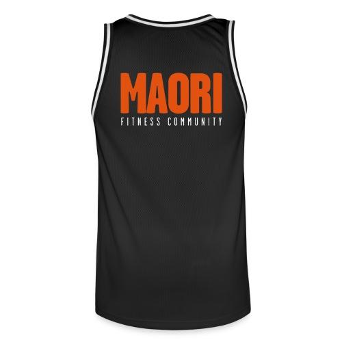 MAORI Basketball Trikot schwarz - Männer Basketball-Trikot