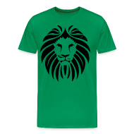 T-Shirts ~ Men's Premium T-Shirt ~ Syronix Lion T-Shirt