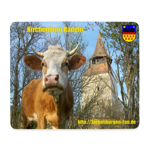 Kirchenburg in Radeln/Roades - Mousepad (Querformat)