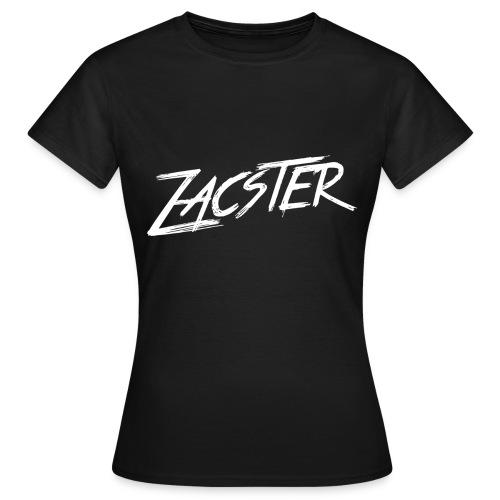 ZACSTER Womens Black T-Shirt - Women's T-Shirt
