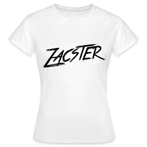 ZACSTER Womens White T-Shirt - Women's T-Shirt