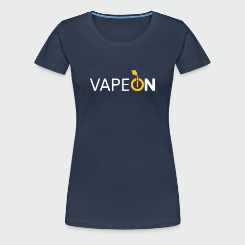 VapeOn (T-Shirt) - Frauen Premium T-Shirt
