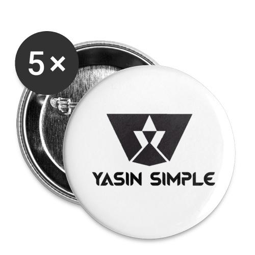 Simple Anstecker - Buttons klein 25 mm